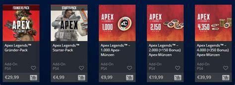 apex legends  funktionieren die mikrotransaktionen im