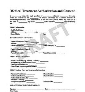 Authorization Letter For Child Travel And Medical child medical consent sample
