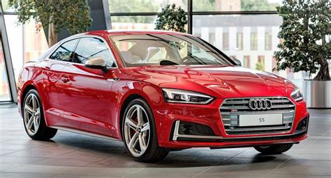 Audi A5 Coupe Rot by Tangorot Metallic All New Audi S5 Showcased In Neckarsulm