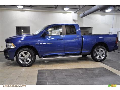 blue dodge ram 1500 for sale 2011 dodge ram 1500 sport cab in water blue