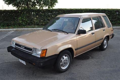 1985 Toyota Tercel 1985 Toyota Tercel Wagon Japanese Classics