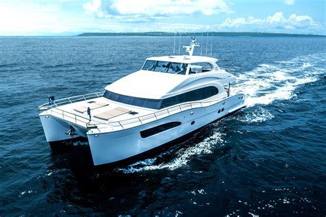 catamaran hull efficiency new pc74 power catamaran mega yacht brings performance