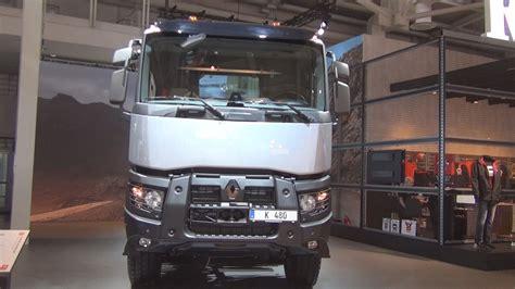 renault truck interior renault trucks k 480 8x4 rear tipper truck 2017 exterior