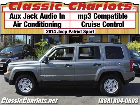 used jeep patriot for sale near me used suv near me 2014 jeep patriot sport with aux ac