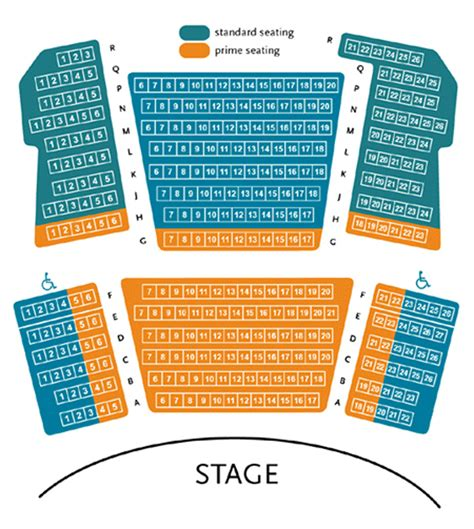 briar theater seating reviews park square proscenium stage seating chart theatre in