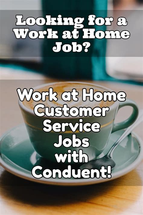 work at home customer care with conduent