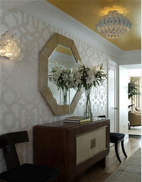 foyer wallpaper wallpaper for foyer eclectic entrance foyer