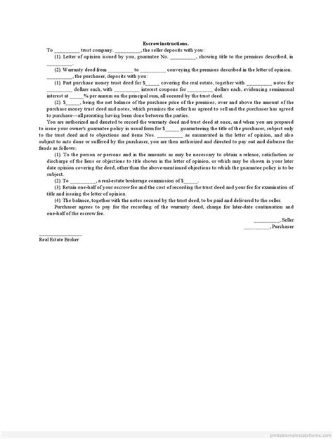 Rent Escrow Letter 1001 best images about real estate forms to print on power of attorney form real
