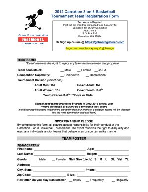 Event Booking Form Template Word