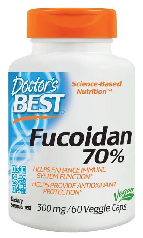 Fucoidan Detox by Best Fucoidan 70 300 Mg 60 Veggie Caps By Doctor S Best