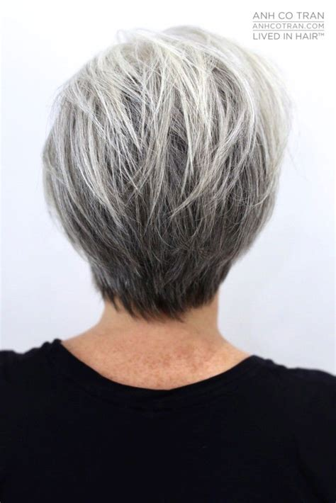 fine graycoming in of short bob hairstyles for 70 yr old 729 best beauty in gray white or silver images on