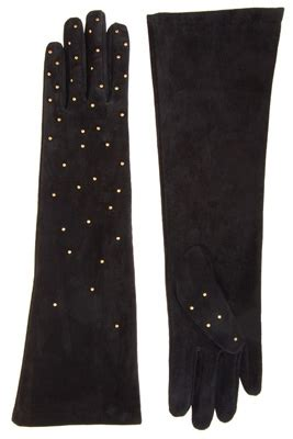 7 Fashionable And Functional Gloves by Asos Flat Studded Suede Gloves 7 Fashionable And Functional