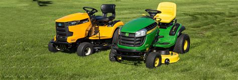 cub cadet  john deere lawn tractor face  consumer
