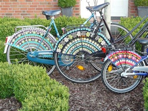 Decorate Your Bike by 35 Modern Ideas For Crochet Designs Trends In