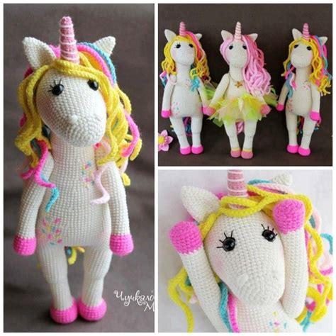 unicorn toy pattern most popular crochet unicorn patterns crafty morning