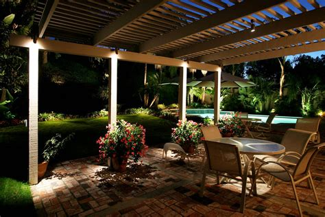 Patio Lighting Ideas Gallery Pool With Lights