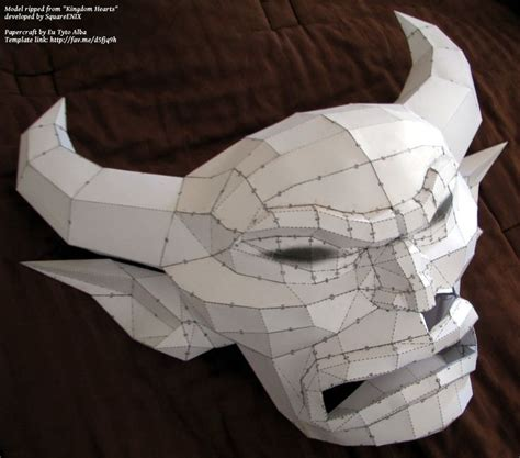 Splicer Mask Papercraft - 21 best images about geo papercraft on origami