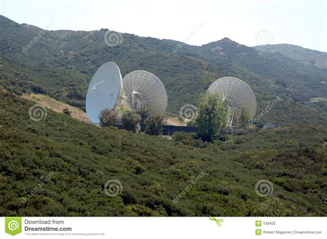 big satellite big satellite dishs 2 stock photography image 139402