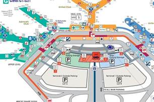 Chicago O Hare Airport Map by Where To Eat At O Hare International Airport Ord Eater