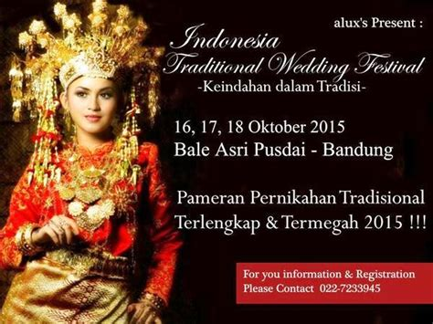 Wedding Event Bandung 2015 by Upcoming Events Indonesia Traditional Wedding Festival 2015