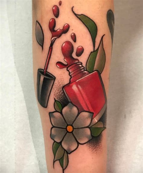 Nail Tattoos by Nail Inkstylemag