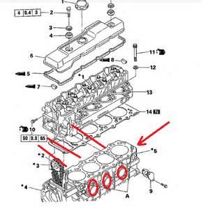 mitsubishi engine schematics