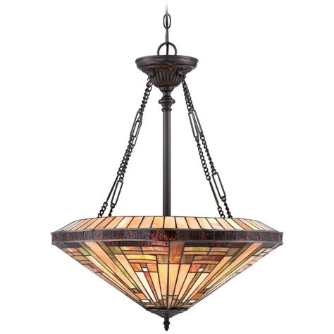 Quoizel Pendant Lighting Quoizel Stephen Vintage Bronze Pendant Light Tfst2822vb