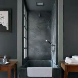 to da loos concrete in the bathroom it s not just for