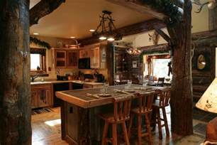Log Home Decor Interior Design Trends 2017 Rustic Kitchen Decor House