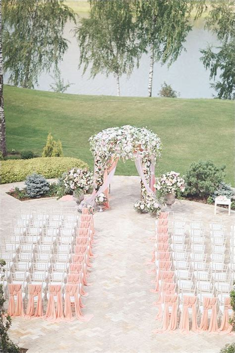 chairs garden wedding the 25 best wedding chair sashes ideas on