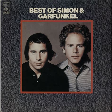 the best of simon simon garfunkel best of japanese vinyl lp album lp