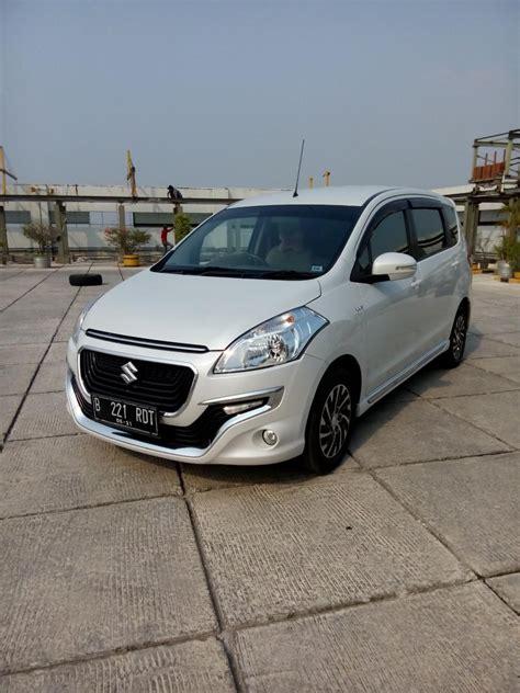 Mobil Suzuki Ertiga Dreza suzuki ertiga dreza matic 2016 km 20 rban putih
