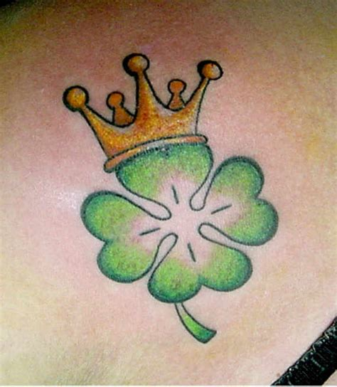 38 lucky celtic shamrock tattoos celtic clover irish clover