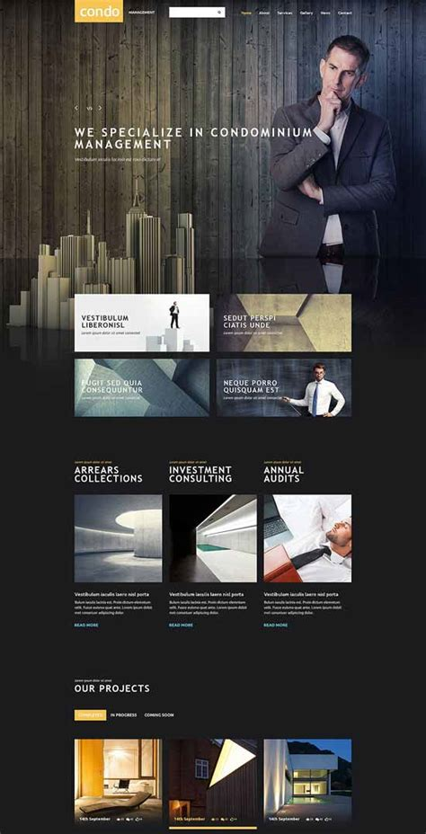 80 Best Real Estate Website Templates Free Premium Freshdesignweb Condo Website Templates