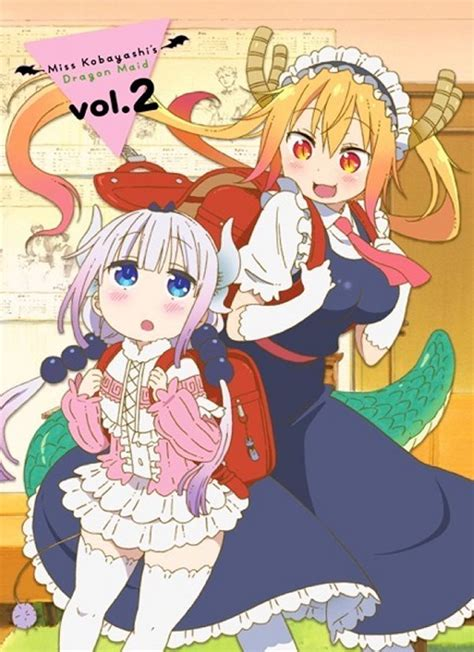miss kobayashi s vol 5 third miss kobayashi s maid anime dvd bd release