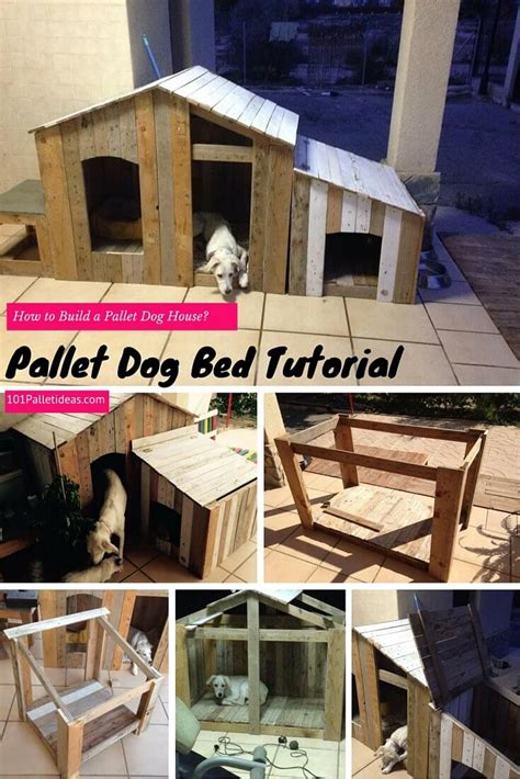 diy house how to build a pallet dog house diy