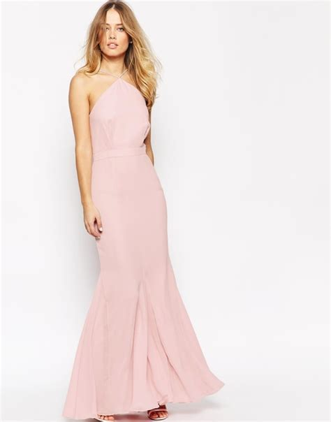 Halterneck Open Back Tie Up Floral Dress J778818 what to wear to an april wedding