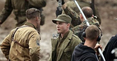 brad pitt prohibition haircut brad pitt will play a soldier in david ayer s fury 2014