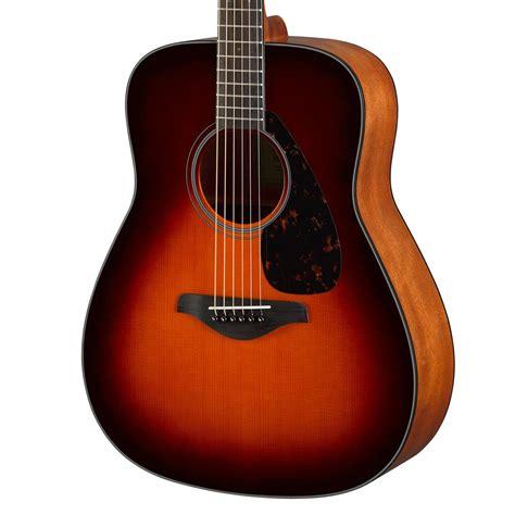 Gitar Yamaha Akustik yamaha fg800 acoustic guitar brown sunburst at gear4music