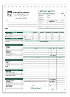 landscaping estimate forms request   sample