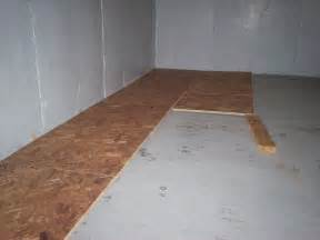 subfloor for basements my basement finishing project