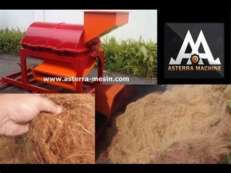 Jual Sabut Kelapa Yogyakarta jual mesin pengurai sabut kelapa murah