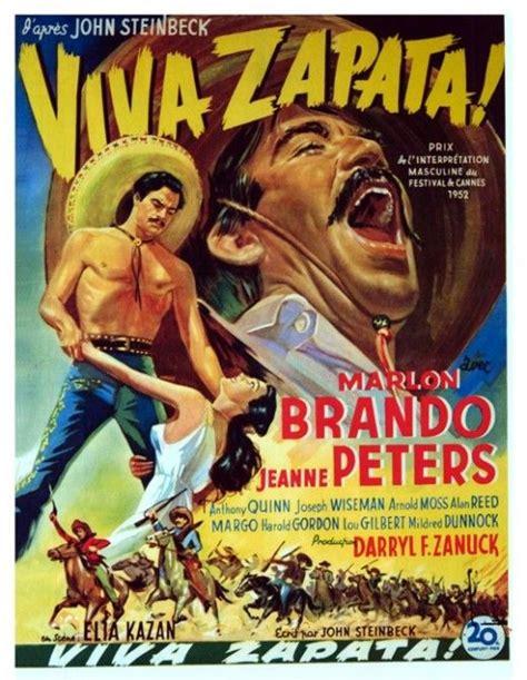 film western zapata viva zapata 1952 belgian poster western movies