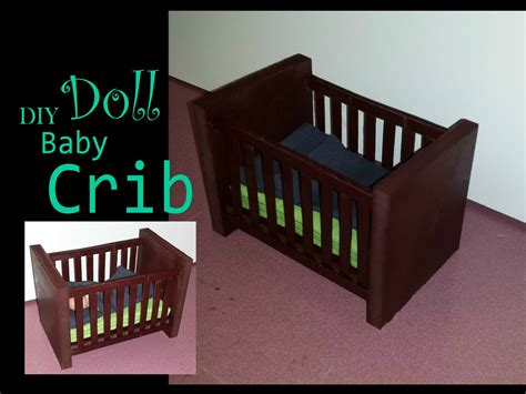 How To Make Baby Crib How To Make A Doll Baby Crib