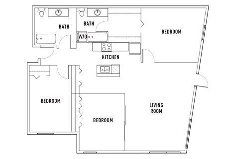 3 bed 2 bath floor plans 100 3 bed 2 bath floor plans ranch style house plan