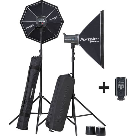 Elinchrom D Lite Rx 2 4 To Go elinchrom d lite rx 4 4 softbox to go kit el20839 2 b h photo