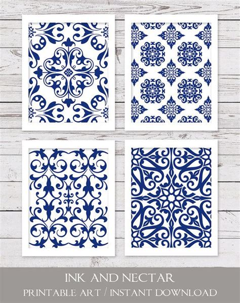 white and blue wall decor 25 best ideas about printable on