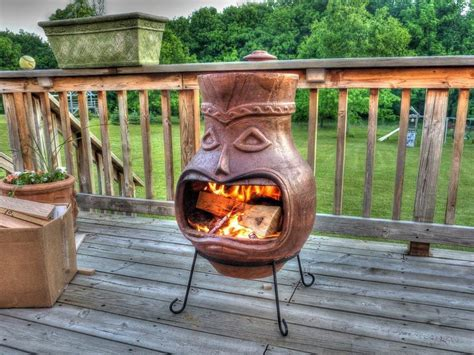 chiminea ideas clay chiminea pit pit chiminea