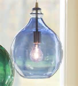 Blue Glass Pendant Light Blue Glass Teardrop Pendant Light Collection Accessories