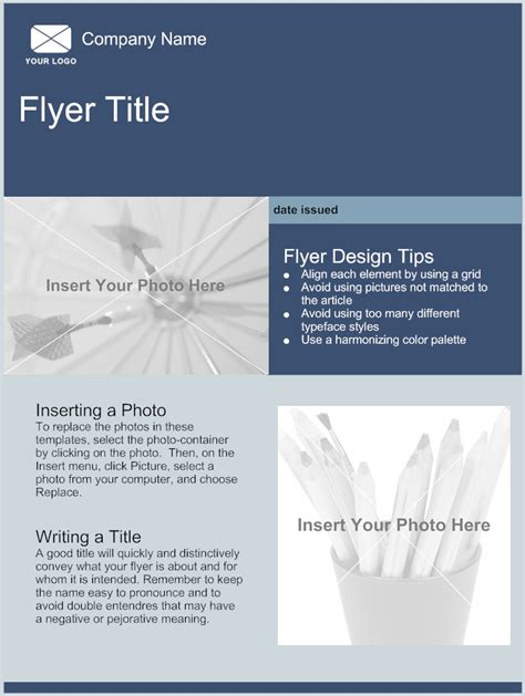 template to make a flyer flyer template